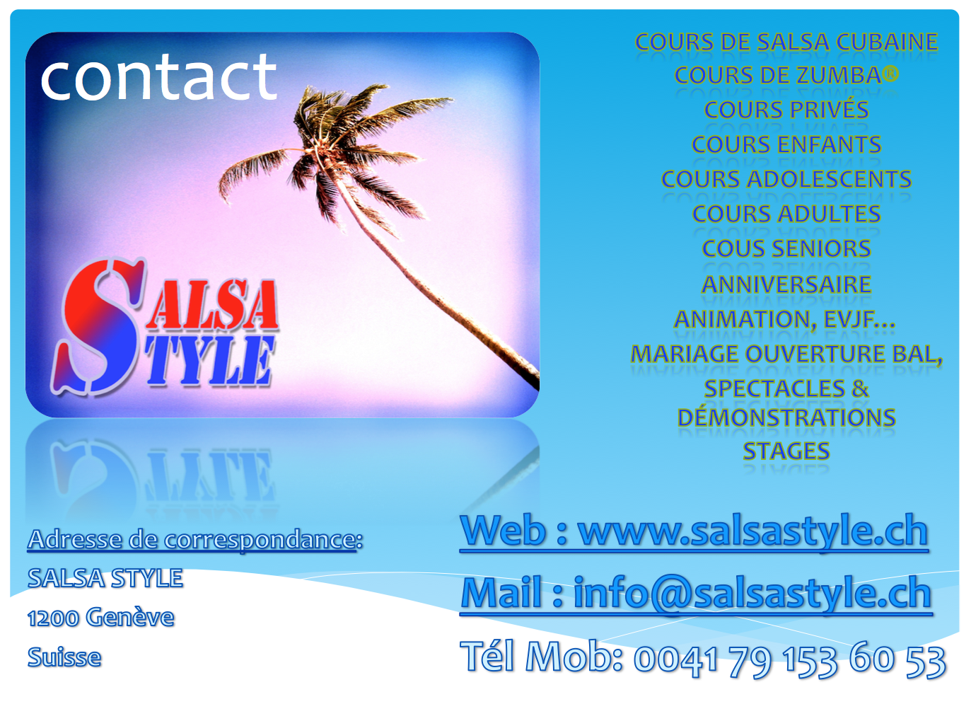 salsa style contact 2014
