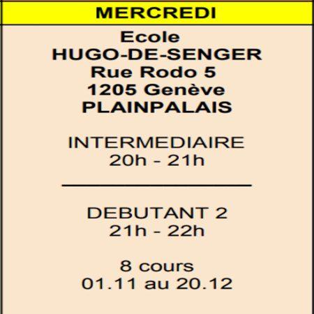 Mercredi Hugo-Senger (Plainpalais)
