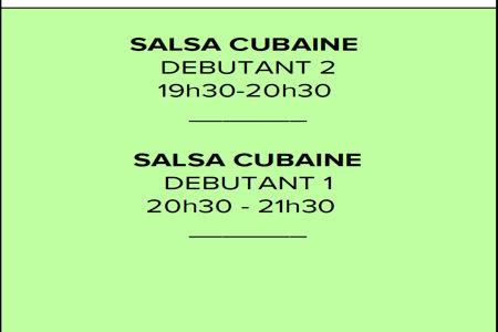 VENDREDI Tony's Bar (Salsa cubaine)