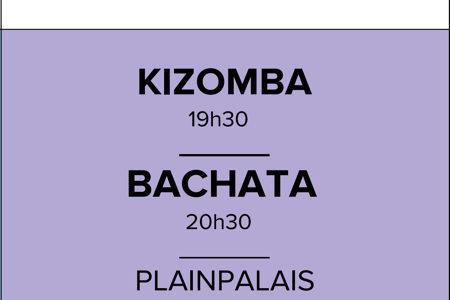 Mercredi KIZOMBA – BACHATA