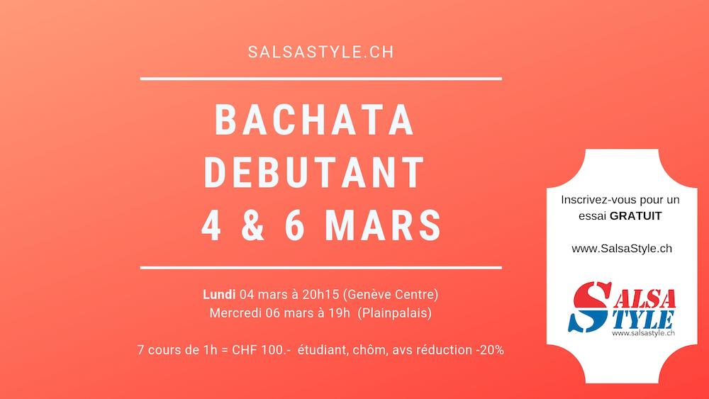 Cours BACHATA DEBUTANT