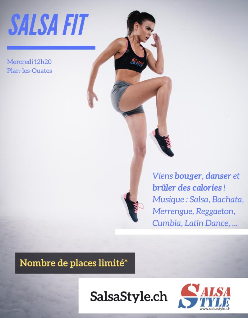 Plaisir de bouger, envie de danser et de brûler des calories. Renforcement musculaire et perte de poids garantie. SalsaFit