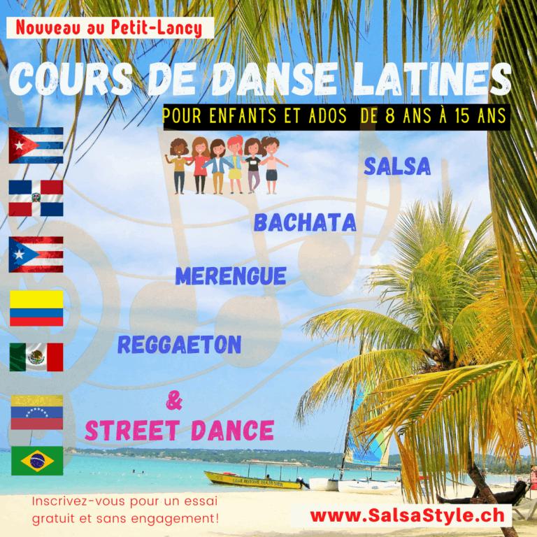 Danses Latines 6-12 ans