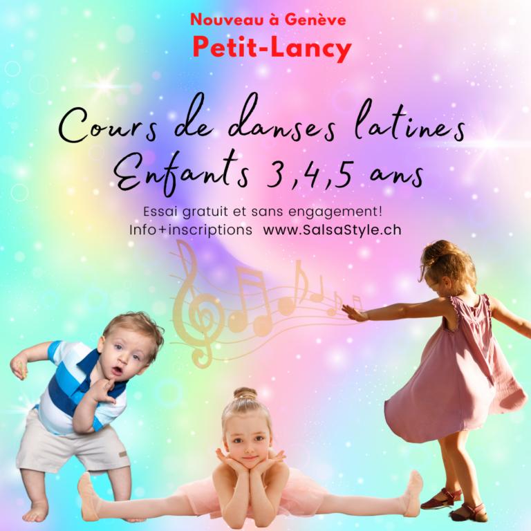 Danses latines enfants 3-5 ans